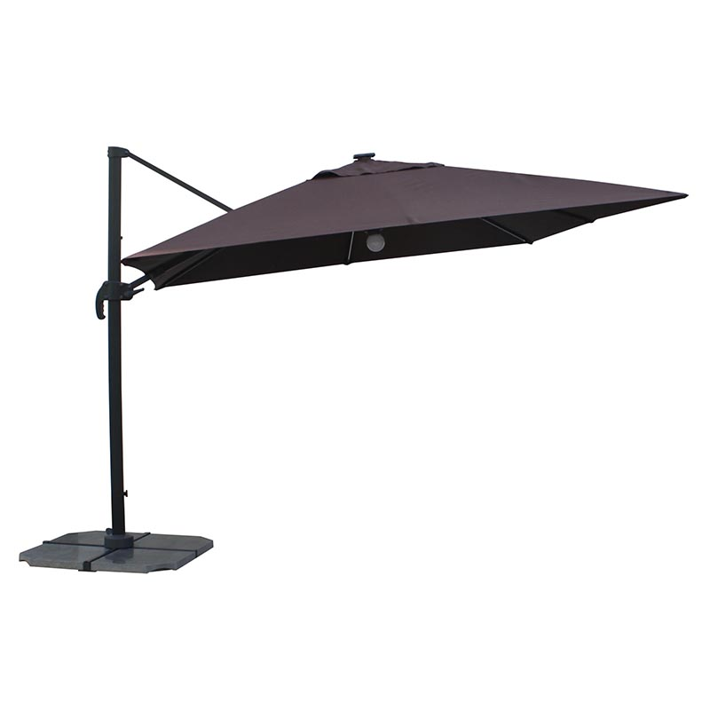 MYB-003-K Solar Small Roman Light Bar Umbrella