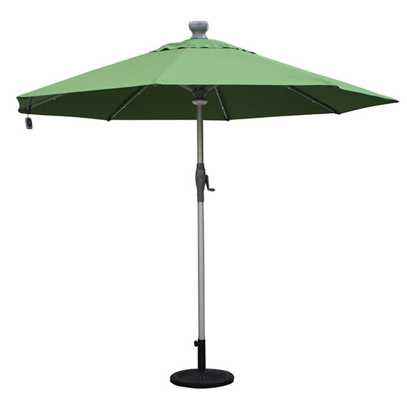 MYA-004-B Solar Small Electric Particle Light Umbrella