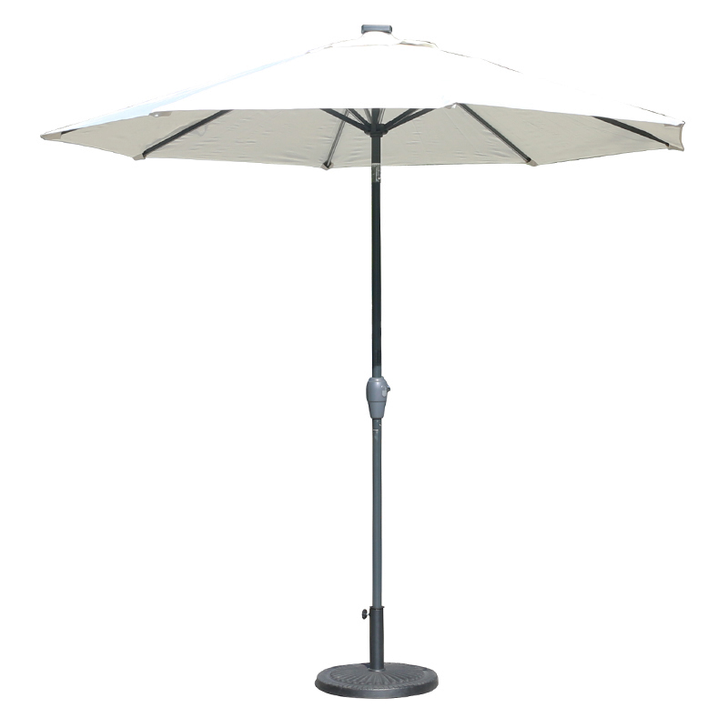 MYA-008-J Solar USB Interface Light Bar Umbrella
