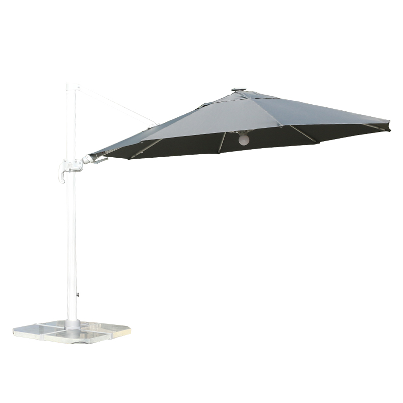 MYB-004-G Left and Right Tilt Light Bar Umbrella in Rome