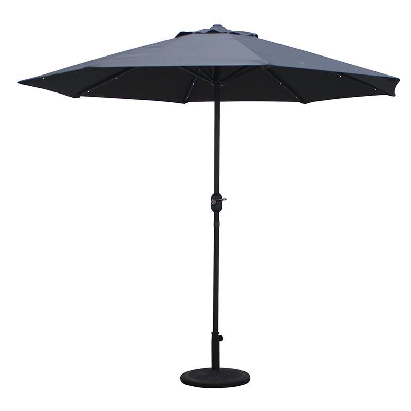 MYA-008 Straight Hand-cranked Particle Light Umbrella (Dry Battery)