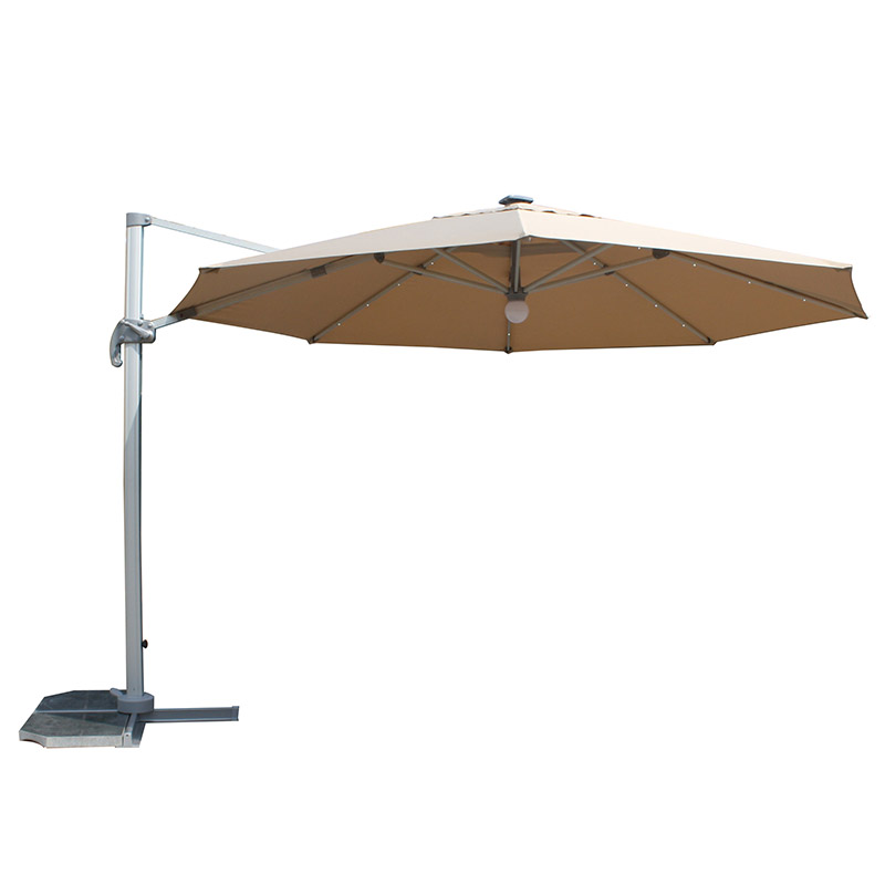MYB-003-O Solar Small Roman Particle Light Umbrella