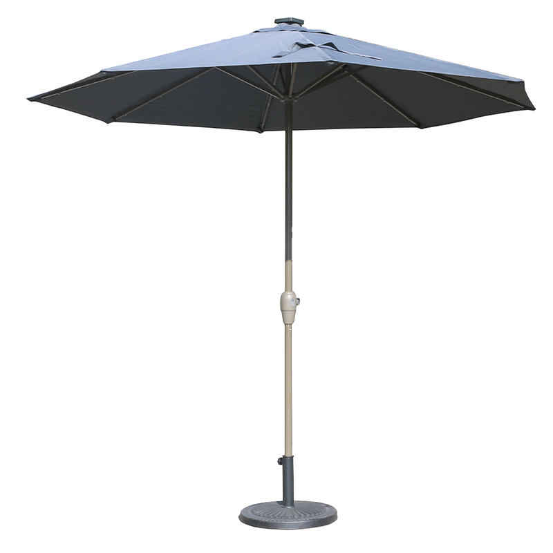 MYA-008-F Solar USB Interface Particle Light Umbrella