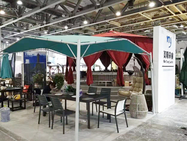 Meiyang Umbrella Industry Participates in Guangzhou Furniture Fair
